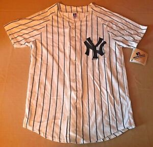 1997 Russel Athletic Yankees Derek Jeter Jersey Youth L NEW NWT