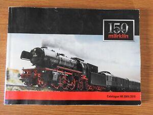 Marklin Catalogue 150 ans HO 2009 / 2010