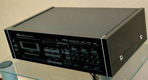 Für Nakamichi ZX-7 Deck Holzseiten Seitenteile URUSHI DESIGN SILBER side panels