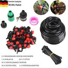 25M Bewässerungssystem Automatisch Bewässerung Tropfschlauch Garten 30 Drippers
