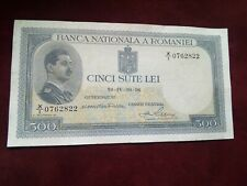More details for romania - 500 lei 1936 - xf banknotes