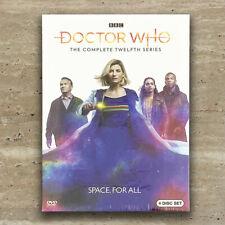 Doctor Who Season 12 (DVD, 2020, 4-Disc Set) Fast Shipping US Seller