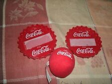 1#A  2000 Coca Cola Burger King Kid's Meal Toy Bottle Cap Ball Game - Coke