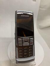 Samsung SGH D840-Argent (Débloqué) Téléphone portable