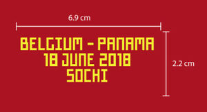 BELGIUM Vs PANAMA World Cup 2018 GROUP STAGE Belgium Home match details