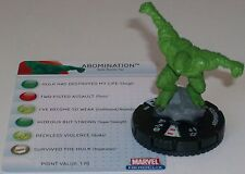 ABOMINATION #206 The Incredible Hulk HeroClix Gravity Feed