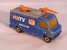 Matchbox Mercedes TV News Truck Die-Cast Vehicle Model - 1989 1:73 Scale