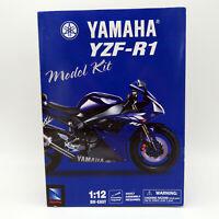 NewRay 2002 Yamaha YZF-R1 1:12 scale Die-Cast Model Kit, 53275, Brand New in Box