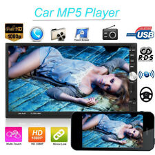"""7"""" 2DIN In-dash Car Estéreo HD Touch Screen Radio FM Reproductor MP5 Android BT"""