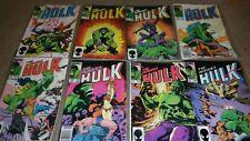 The Incredible Hulk LOT Issues #306-313 Marvel Comics