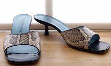 Russell & Bromley peau de serpent Mule Sandales Chaussures UK6 EU39 en boîte