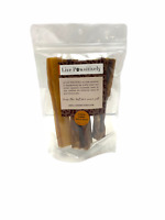 "Live Pawsitively Roasted 6"" JUMBO Beef Bully Sticks 4 pack Natural Dog Treat"