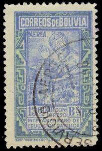 BOLIVIA C123 (Mi429) - Pope Pius XII Blessing University (pb20620)