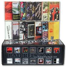 BAD RELIGION 14 used cassette tape custom box set (u.s. epitaph records punk