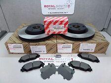 Toyota Matrix S AWD Front Brake Pad & Front Rotors Set Genuine OE OEM