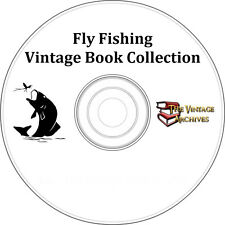 Fly Fishing Vintage Book Collection on CD - Fishing, Angler, Fisherman, Fish