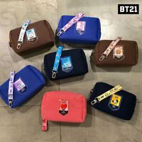 BTS BT21 Official Authentic Goods Air Mesh Daily Pouch 180 x 75 x 115mm