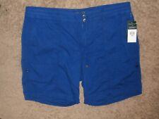 Lauren Ralph Lauren -Women's Shorts,   Plus-size: 20W, color: Blue