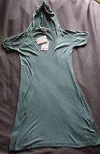 Robe Tunique avec capuche - vert céladon - Lynn Adler - Taille L