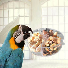 Pet Bird Parrot Feeder Bite Box Wheel Foraging Food Puzzle Feeding Dispenser Set