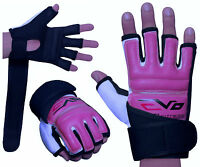 EVO Ladies MMA Gloves Body combat Gel Boxing Punch Bag Martial Arts Karate Mitts