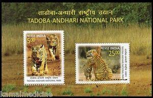 India 2016 MNH SS, Tadoba Andhari National Park Tiger Reserve Wild Animal
