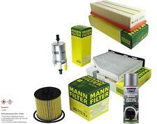 MANN-FILTER Paket + Presto Klima-Reiniger für VW Touran 1T1 1T2 1T3 Golf Plus