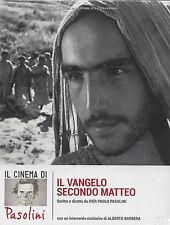 Dvd **IL VANGELO SECONDO MATTEO** di Pier Paolo Pasolini nuovo Digipak 1964