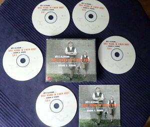 5CD Götz Alsmann liest Drei Mann in Einem Boot von Jerome K. Jerome LESUNG