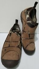 Merrell Mens Camouflage Jungle Mocs Real Tree Leather Army Green Shoes Size 9