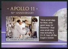 St Vincent & Grenadines 2018 MNH Apollo 11 Moon Landing 1v S/S Space Stamps