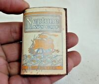 OLD VINTAGE NEPTUNE NAVY CUT BRAND CIGARETTES MATCH COVER ADV. ENGLAND P1