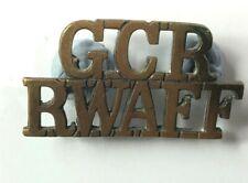 WW2 Gold Coast Regiment Royal West African Frontier Force Shoulder title Genuine