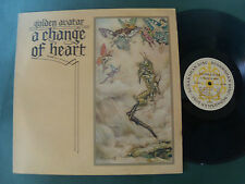 GOLDEN AVATAR: A Change of Heart / Surdashan UK stereo LP exc