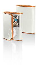 BELKIN Leather Folio Case for iPod 3G 3rd Gen NANO F8Z206-OT Persimmon / Bone