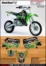 Kawasaki KLX 110 - KX 65  2002-2016 Dirt Bike Graphics  BadBoy Racing Enjoy Mfg