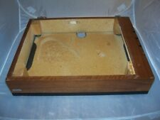 Nice Vintage Lenco  L75 Plinth with hinges and bottom-Good!