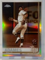 2019 Topps Chrome #179 Willy Adames Rookie Cup Sepia Refractor Tampa Bay Rays