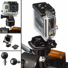 Motorcycle M10 Stud Mount and Ball Flat Surface Adapter for GoPro Hero4 Session