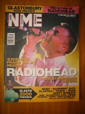 NME 2000 JUN 24 RADIOHEAD MOBY BASEMENT JAXX MUSE REEF
