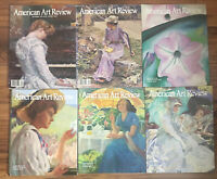 """Lot of 6 Issues """"American Art Review Magazines 2003,2004,2012 (3) & 2013"""