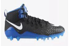 Nike Force Savage Pro Football Cleats Size 11 Black Royal Blue 880144-014