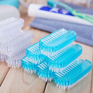 Nail Brushes Cleaning Scrubbing Brush Remove Dirt Hand Finger Toe Cleaner