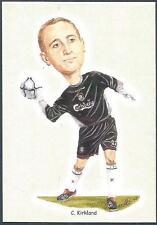 LIVERPOOL FOOTBALL CARDS-2002- #14-CHRIS KIRKLAND