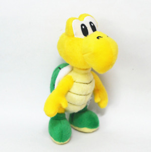 "Super Mario Bros Green Koopa Troopa Plush Stuffed Doll 6"""
