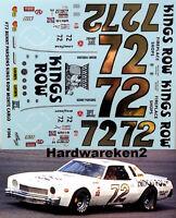 Powerslide 332 #28 J.D.Stacy 1982 Benny Parsons Decal Nascar
