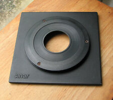 genuine Sinar F & P top hat 8mm lens board with copal compur 1 hole 41.6mm