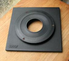 Genuine Sinar F & P Top Hat 8mm Lente Tablero con copal Compur 1 orificios 41.6mm
