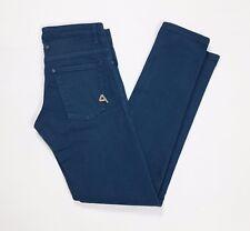 Cycle jeans donna skinny stretch w30 tg 44 blu denim usato denim blu bassa T2758