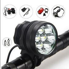 7X CREE XM-L T6 LED 9000Lm Cycling Bike Lamp Super Bright HeadlLight Waterproof